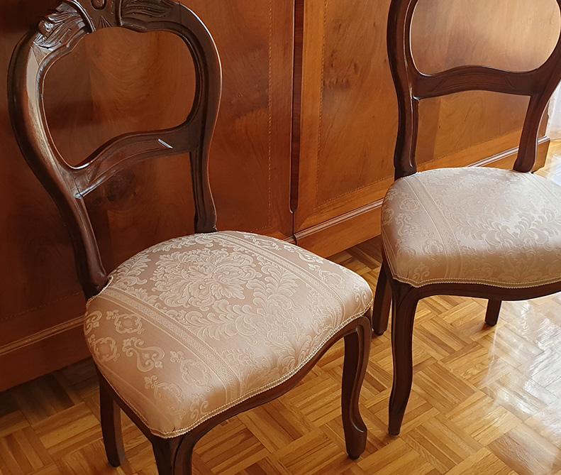 Restauro sedie antiche   MastroTappezziereIn