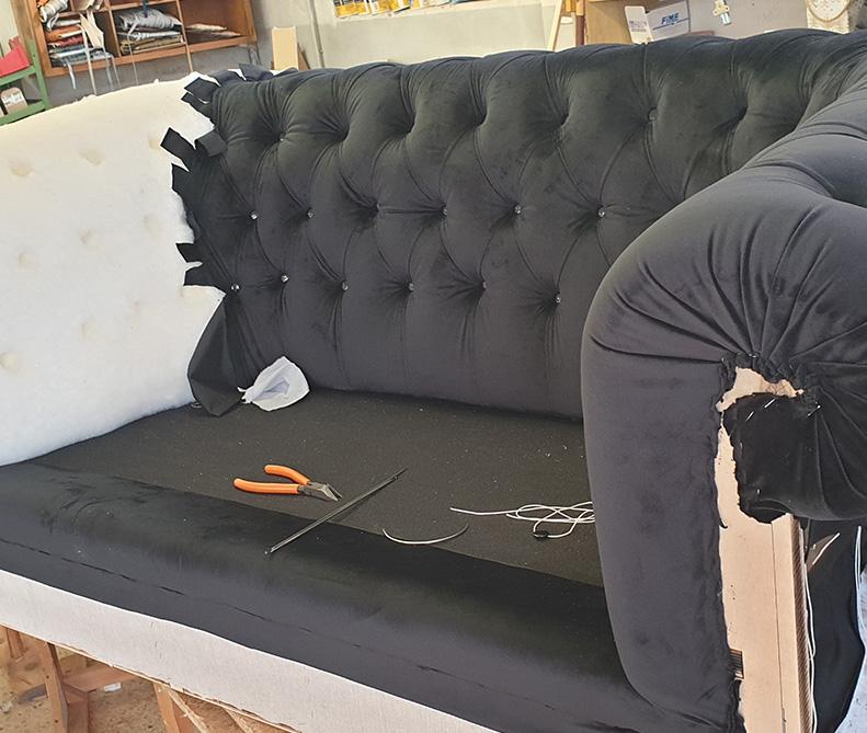 Rifacimento divano   MastroTappezziereIn