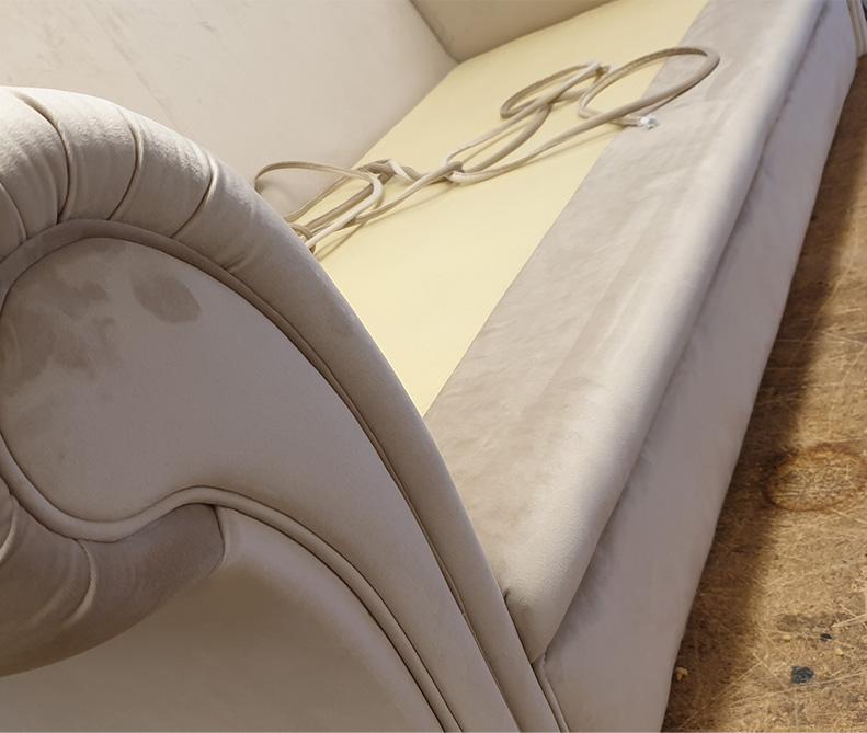 Rifacimento divano | MastroTappezziereIn