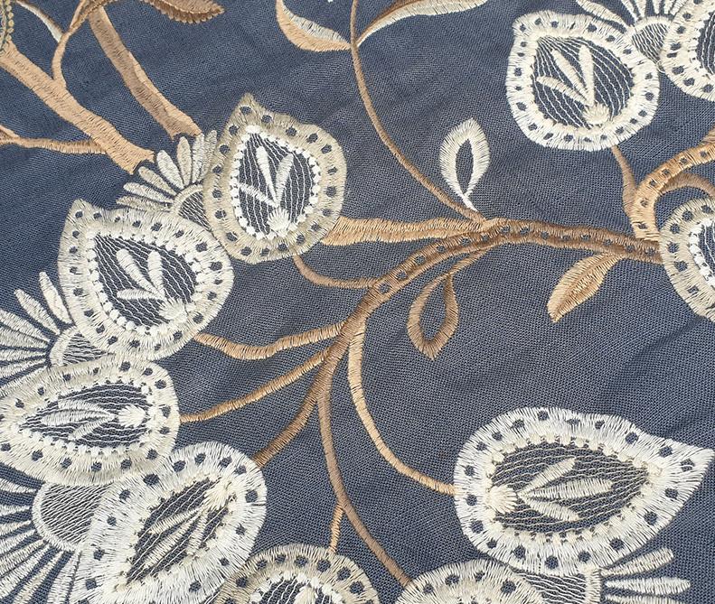 Tessuto floreale carta da zucchero   sartoria MastroTappezziereIn